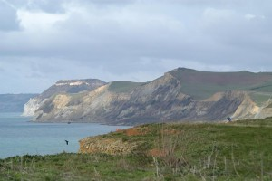 Coast towards Lyme Regis